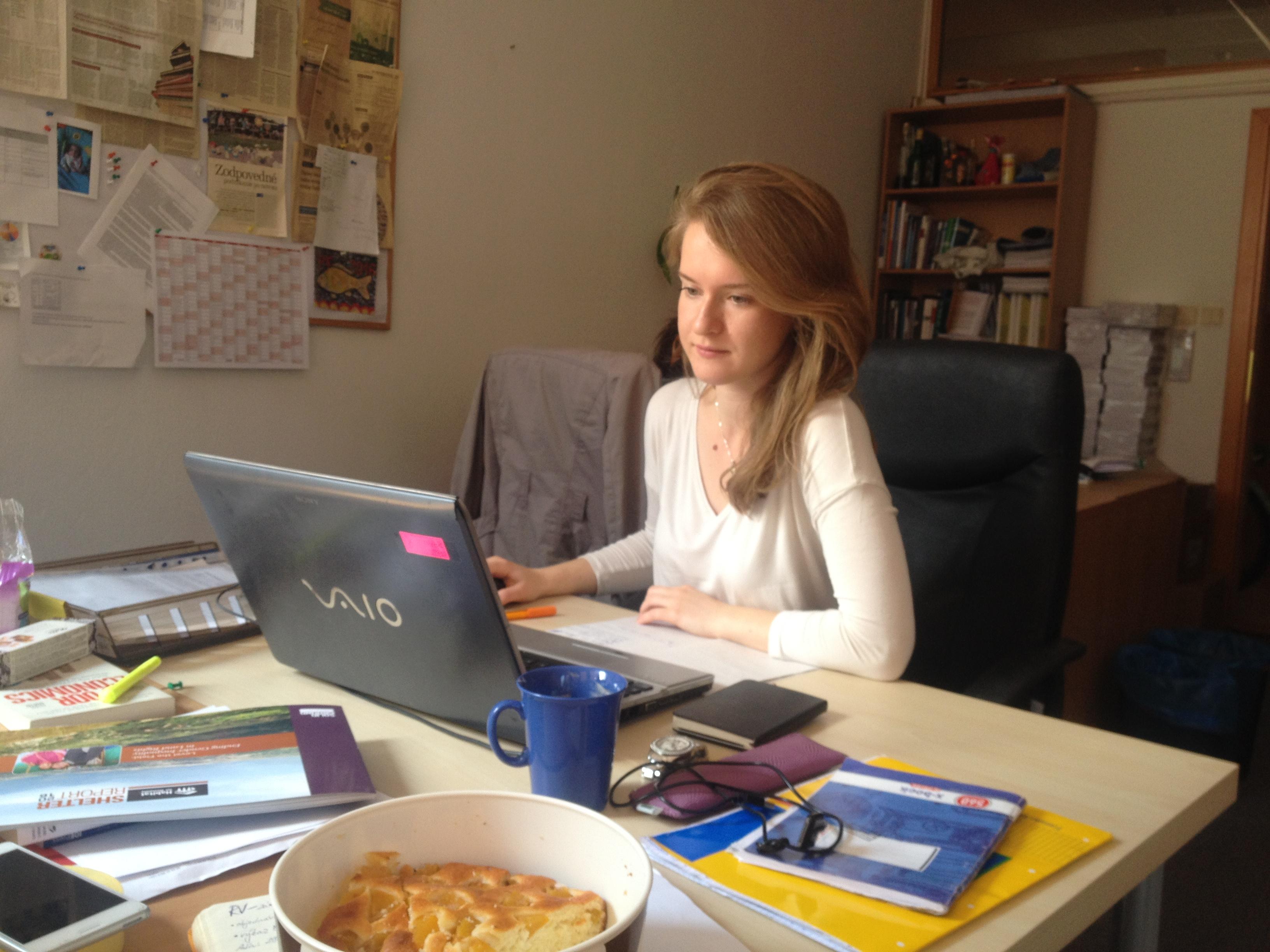Kira, Development coordinator intern in NGO, Russia/Italy