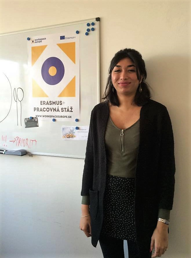 Monica, Marketing trainee, Indian studying in Austria
