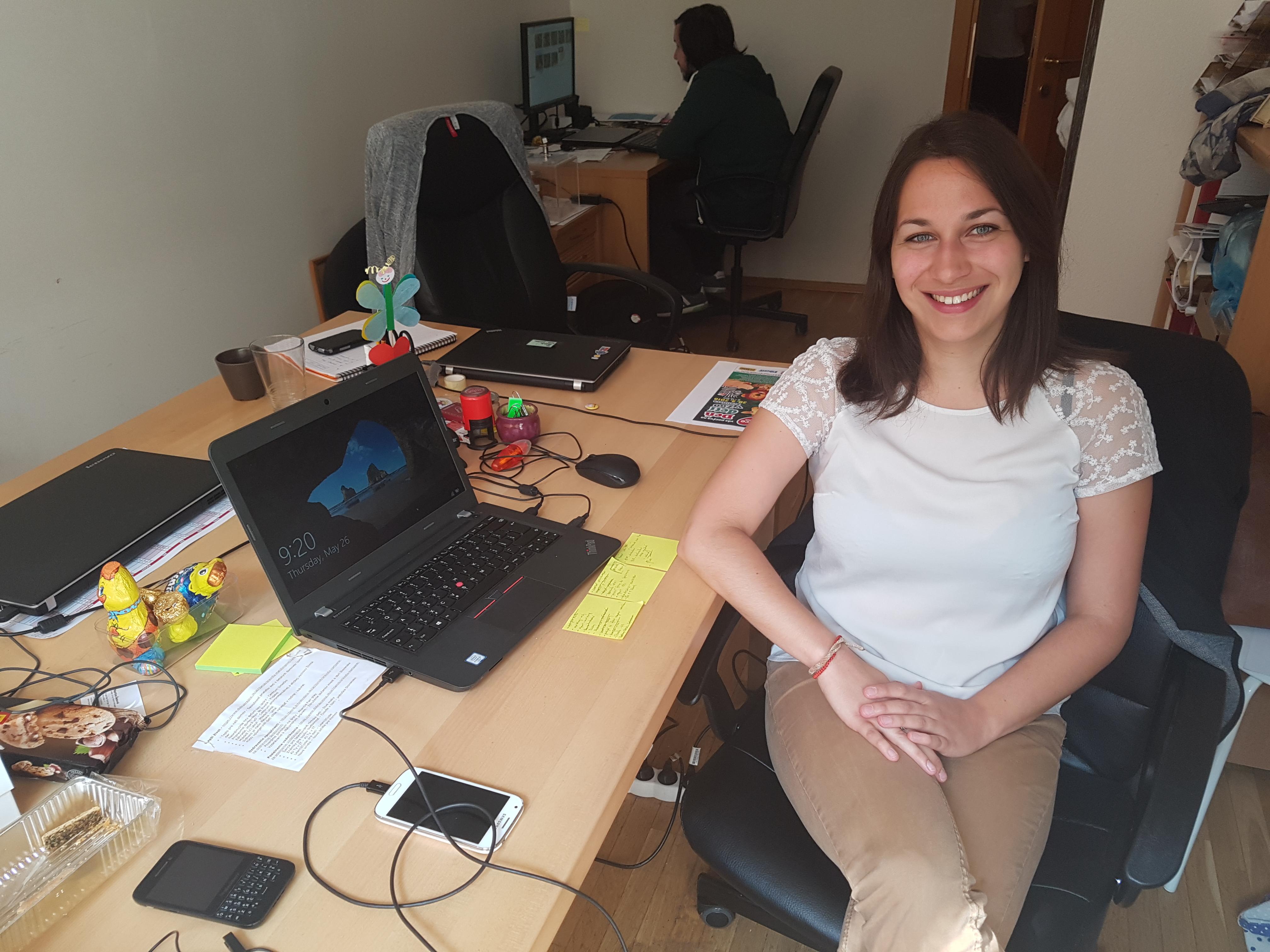 Laura, Programme coordinator, France