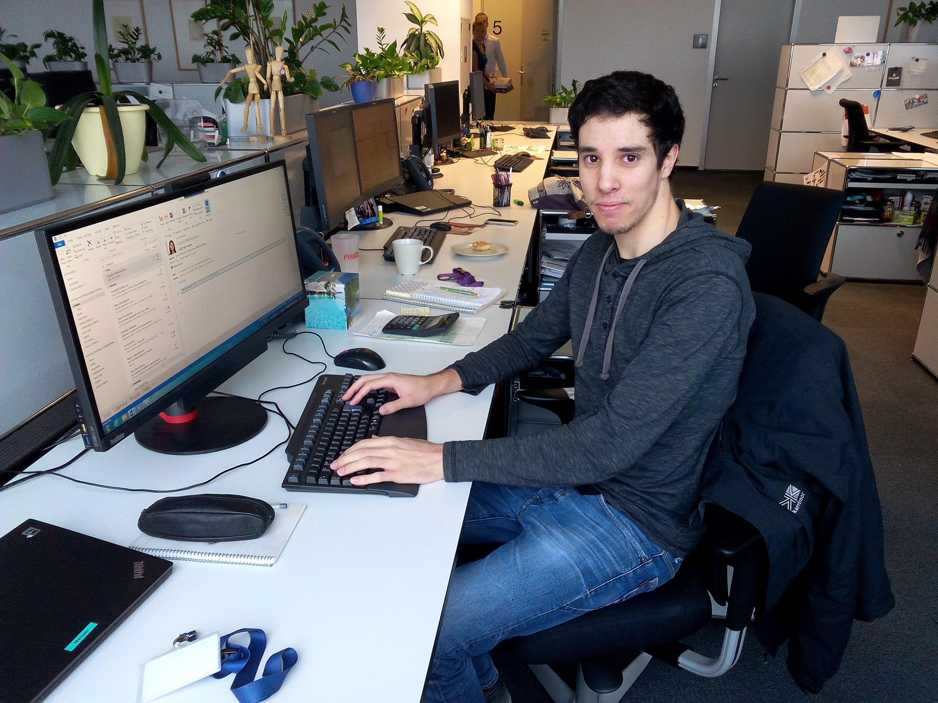 Emanuel, Accountant Trainee, Portugal