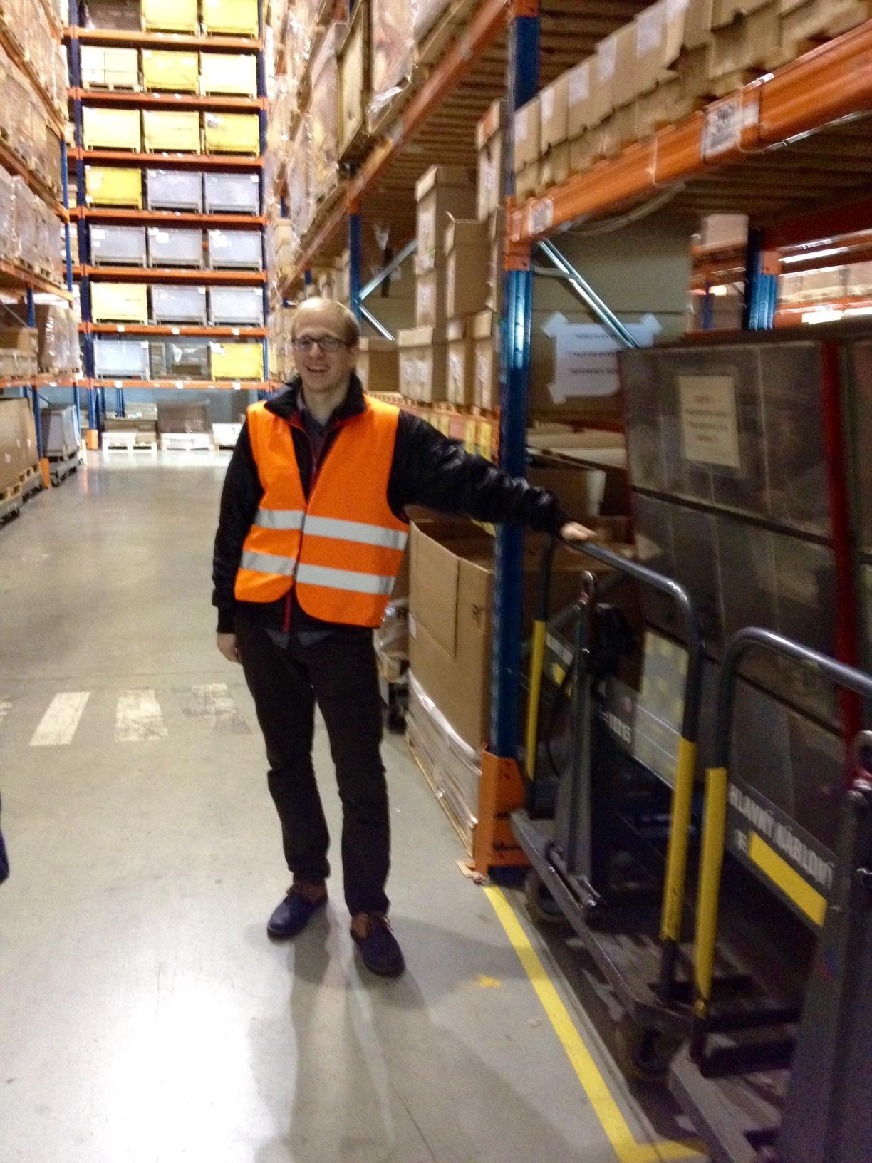 Vadims, Logistics trainee, Lithuania