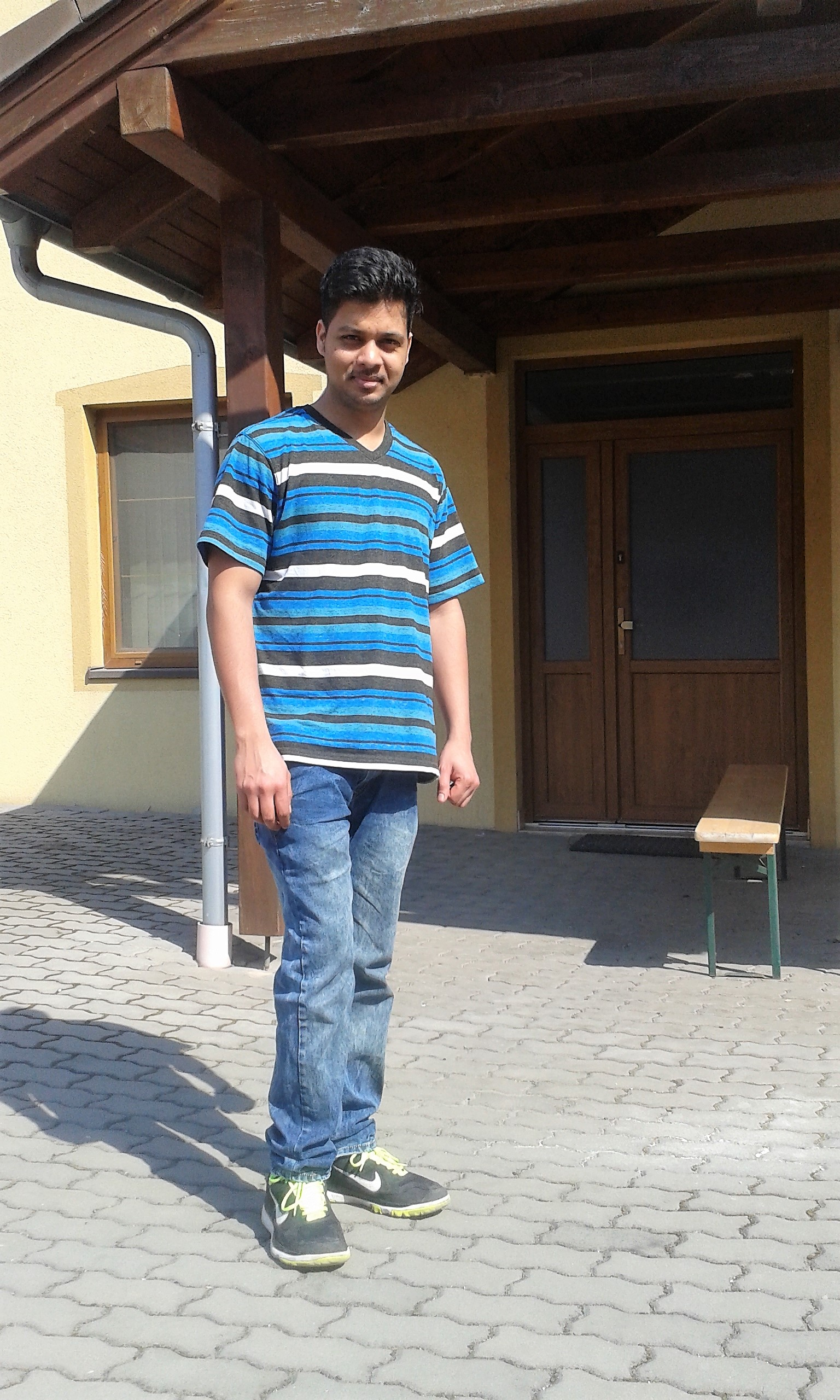 Vinay, Mechanical Engineer, Indian studying in Germany