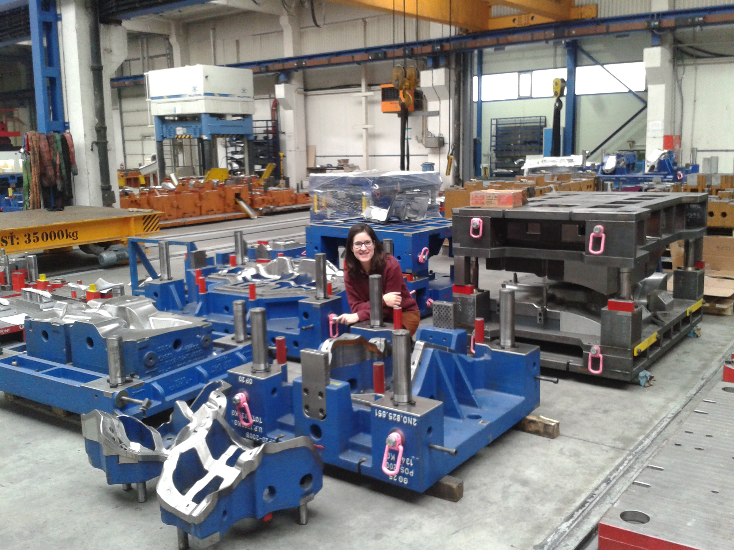 Sara, Tools Designer, Spain